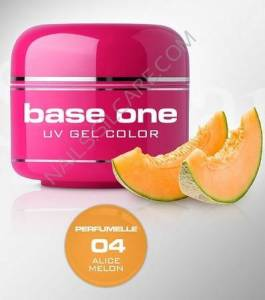 Base One Color Żel Kolorowy Perfumowany 04 Alice Melon 5g