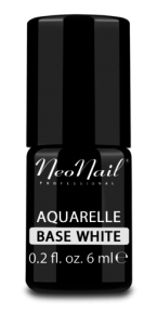 Lakier hybrydowy NeoNail UV 6ml - Aquarelle Base White
