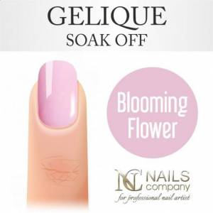 Nails Company GELIQUE BLOOMING FLOWER 6ML - Żel hybrydowy