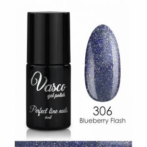 Lakier hybrydowy VASCO Shine & Shade 6 ml - 306 Blueberry Flash