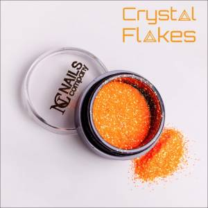 Crystal Flakes Neon Orange