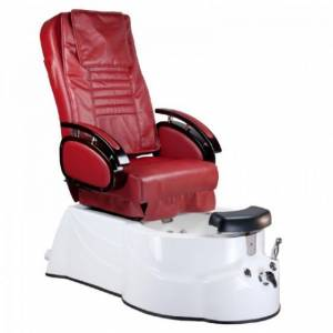 Fotel Pedicure SPA BR-3820D Bordowy