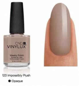 Lakier VINYLUX CND - Impossibly Plush 123