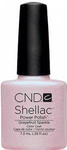 CND Shellac - Grapefruit Sparkle