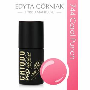 Chiodo PRO Soft Summer Touch - lakier hybrydowy - Coral Punch 744