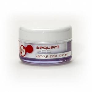 Akryl Sequent Clear 12g