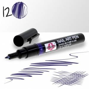 Pisak do zdobień Nail Art Pen 7ml nr 12