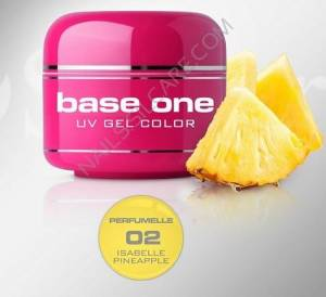 Base One Color Żel Kolorowy Perfumowany 02 Isabelle Pineapple 5g