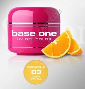 Base One Color Żel Kolorowy Perfumowany 03 Emma Orange 5g