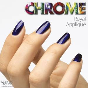 Lakier do paznokci Morgan Taylor Chrome Collection - ROYAL 50212