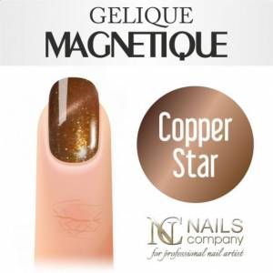 Nails Company GELIQUE MAGNETIQUE 6ML - COPPER STAR