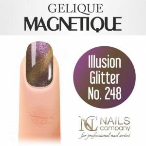 Nails Company GELIQUE MAGNETIQUE 6ML - Illusion No. 248