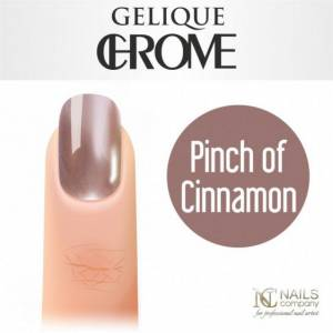 Nails Company GELIQUE CHROME - kolor PINCH OF CINNAMON 6 ml