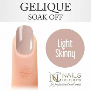 Nails Company GELIQUE LIGHT SKINNY 6ML - Żel hybrydowy