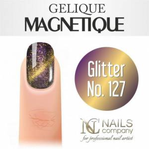 Nails Company GELIQUE MAGNETIQUE 6ML - Glitter No. 127