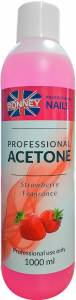 Aceton Remover RONNEY Truskawkowy 1000 ml