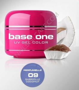 Base One Color Żel Kolorowy Perfumowany 09 Gabrielle Cocount 5g