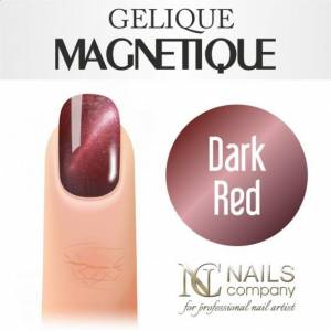 Nails Company GELIQUE MAGNETIQUE 6ML - DARK RED