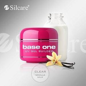 Żel Base One UV Gel Clear Vanilla Milk 30g