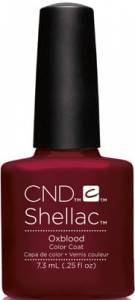 CND Shellac - Oxblood