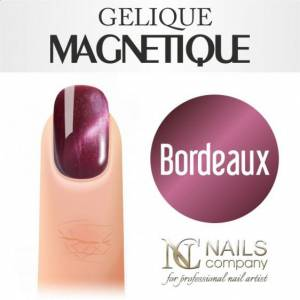 Nails Company GELIQUE MAGNETIQUE 6ML - BORDEAUX