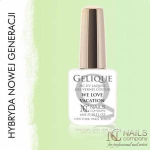 Nails Company GELIQUE WE LOVE VACATION 6ML - Żel hybrydowy