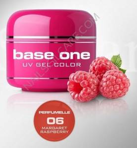 Base One Color Żel Kolorowy Perfumowany 06 Margaret Raspberry 5g
