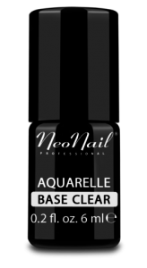 Lakier hybrydowy NeoNail UV 6ml - Aquarelle Base Clear