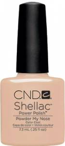 CND Shellac - Powder My Nose